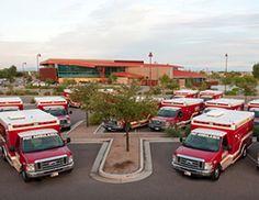 PMT AMBULANCE fleet in Arizona.