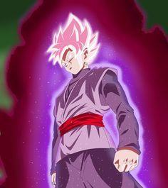 Black Goku Super Saiyan Rose by NekoAR