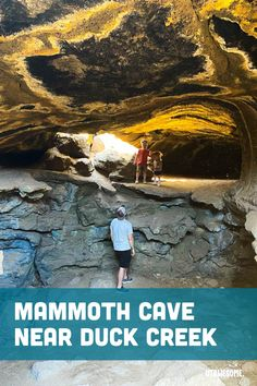 Mammoth Cave near Duck Creek | UTAWESOME Mammoth Cave, The Other Side, Utah, Earth, Explore, Awesome, Places, Travel, Lugares