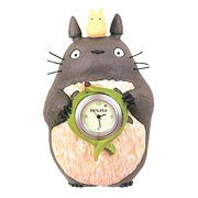 My Neighbor Totoro Totoro's Souvenir Table Clock - http://lopso.com/interests/clocks/my-neighbor-totoro-totoros-souvenir-table-clock/