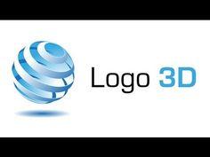 Illustrator Tutorial | How to make 3D Globe Spiral Logo Design - YouTube