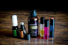 empty essential oil bottles - dilution dilute