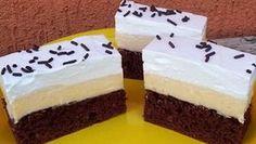 Zmrzlinový dezert s vážně fantastickou chutí připravený během pár minut! | Vychytávkov Mini Cheesecakes, Pudding, Treats, Sweet, Recipes, Sweet Like Candy, Rezepte, Puddings, Recipe