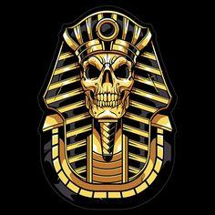 Trending Colors, digital art, top graphic Inspiration 2019 by Swyda Illustration Vector, Vector Art, Tiger Attack, Ancient Egypt Art, Samurai Artwork, Skull Wallpaper, Anubis, Dope Art, Egyptian Art