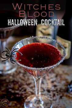 This Halloween cocktail is perfect for whipping up in a big batch for a crowd. An easy to make cocktail that mixes vodka, whiskey and lemon t… Party Drinks Alcohol, Alcohol Drink Recipes, Punch Recipes, Fireball Recipes, Halloween Party Drinks, Fete Halloween, Halloween Treats, Halloween Alcoholic Drinks, Alcoholic Desserts