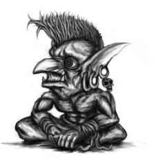 Goblin Drawings | goblin by patrike digital art drawings paintings fantasy 2009 2014 ...