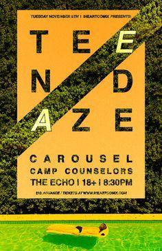 Teen Daze Poster - Christopher Norman