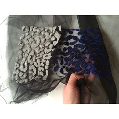 Textured Leopard Embroidery by Ellie Mac Embroidery #elliemacembroidery