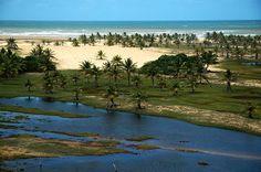 Praias surreais no Brasil.