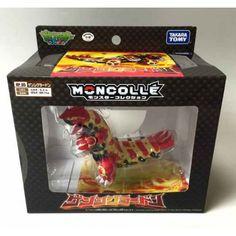 Pokemon 2014 Primal Groudon Takara Tomy Moncolle Hyper Size Monster Collection Plastic Figure HP-05