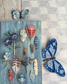 raicesyestrellas:  @woodlucker Paper Origami Flowers, Flower Structure, Paper Art, Paper Crafts, Ann Wood, Paper Magic, Collage, Paper Cutting, Quilling