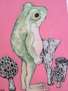 Yuko Higuchi - かえる / frog