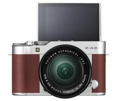 Fujifilm X-A3 body bruin