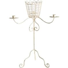 A&B Home Metal Candle Holder- Set Of 2