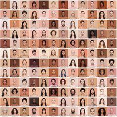 """""""Humanae, a pursuit to highlight our true colours"""" - artist Angélica Dass - The Chromologist"""