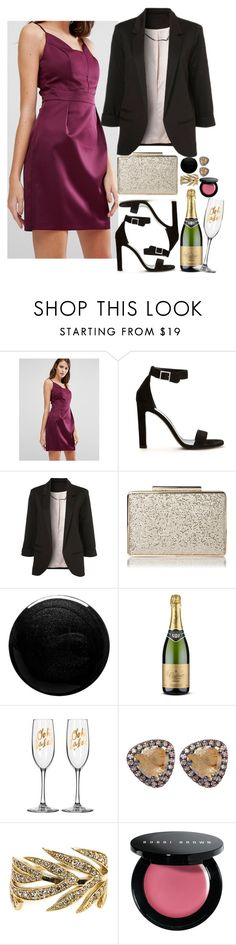 """""""Untitled #1513"""" by inthesun707 ❤ liked on Polyvore featuring Oasis, Yves Saint Laurent, WithChic, Nails Inc., Suzanne Kalan, Marc Alary and Bobbi Brown Cosmetics"""
