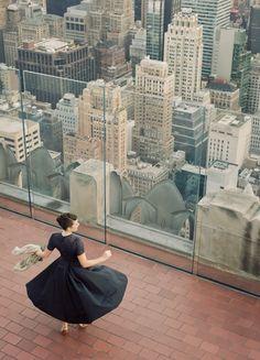 Jamie Beck, Roof top dancing
