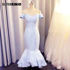 Blue Bridesmaid Dresses Short, Blue Bridesmaids, Wedding Company, Lace Evening Dresses, Dress Silhouette, Custom Dresses, Wedding Party Dresses, Handmade, Hand Made