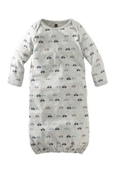 Tea Collection Bike Ride Gown (Baby Boys)
