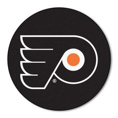 Fanmats NHL Philadelphia Flyers Nylon Rug - Puck Mat  http://allstarsportsfan.com/product/fanmats-nhl-philadelphia-flyers-nylon-rug/?attribute_pa_style=puck-mat  9 ounce, 100 % nylon face Recycled vinyl backing for a durable and longer-lasting product Machine made and tufted in the USA