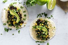 Cilantro-Lime Vegan Tacos