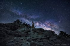 Beautiful Milky Way Photography by Michael Shainblum