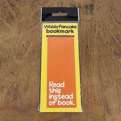 Waldo Pancake Orange Magnetic Bookmark  | eBay