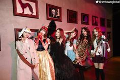 2014 #SMTOWN HALLOWEEN PARTY -Detectives in SMTOWN-. More photos: http://now.smtown.com/#/Show/1210
