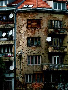 post war Sarajevo, Bosnia