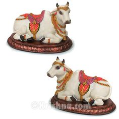 "Krishna.com Store - Surabhi Cow Figurine Set, 4.5"", $33.95 (http://store.krishna.com/surabhi-cow-figurine-set-4-5/)"