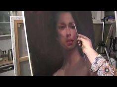 УРОКИ ИГОРЯ САХАРОВА ,ПОРТРЕТ ПОЛНЫЙ РАЗБОР, основы портрета маслом - YouTube