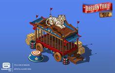 ArtStation - The Oregon Trail - American Settler / GAMELOFT , Alvaro Vera