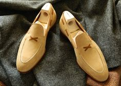 Saint Crispin's loafer on classic last, special MTO for New York City