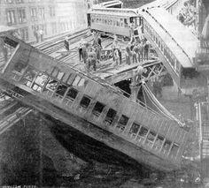 Subway accident, 9th Avenue/53rd Street New York, 1905