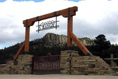 ranch entrance gates - Google Search