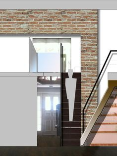 Awesome Loft Home Decor with the Best Design : Modern Concept Design Idea Plan Applied In Gramercy Loft Triplex With Best House Architetcure...