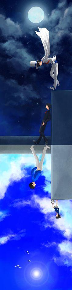 Détective Conan - Kaito Kid, Shinichi Kudo & Conan Edogawa