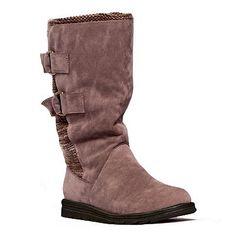 muk-luks-luna-women-s-midcalf-boots in gray