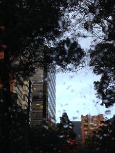 Lluvia en Bogota