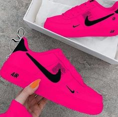 Tag a friend who you think would look dope in these sneakers. Souliers Nike, Jordan Shoes Girls, Nike Shoes Air Force, Kicks Shoes, Shoes Heels, Aesthetic Shoes, Cute Sneakers, Sneakers Nike, Hype Shoes
