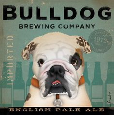bulldog brewing co. in Whiting, IN -- they have some really attractive labels.