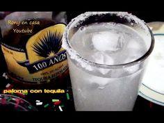 TEQUILA - MÉXICO Como preparar una PALOMA CON TEQUILA bebida mexicana co...