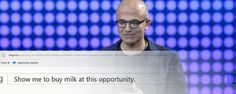 Microsoft's Satya Nadella shown up by confused Cortana assistant
