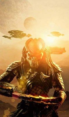 Predator - forever a favorite character. Enjoyed these movies with my dad! Alien Vs Predator, Predator Movie, Predator Alien, Aliens Movie, Nerd, Cultura Pop, The Villain, Scary Movies, Sci Fi Art
