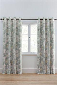 Master Bedroom Buy Geo Leaf Print Eyelet Curtains From The Next UK Online Shop