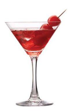 Cherry Vanilla Martini (1 1/2 oz. Cherry Liqueur 3 oz. Vanilla Vodka)