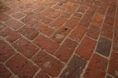 Brick flooring-Love it!!