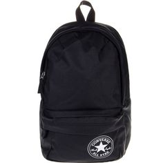 50b466e258e1 Converse All Star Mini Backpack (Black White) ( 31) ❤ liked on