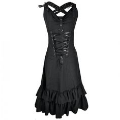 Attitude Clothing - Alternative, Gothic, Punk, Rock Clothing, Shoes, Brands + Accessories - Vixxsin Kate Dress