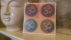 Check out this item in my Etsy shop https://www.etsy.com/listing/289828601/ceramic-tile-om-abstract-wall-artcoaster